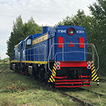 Маневровая работа локомотива